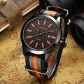 Ochstin Nylon Casuais Homens Relógio Relógio de Quartzo Masculino Relógio Calendário À Prova D' Água Da Lona de Nylon Homens Relógio de Pulso Relogio masculino