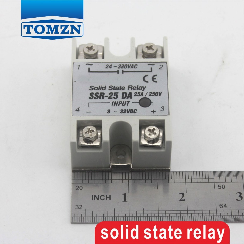 25da Ssr Input 3 32v Dc Load 24 380v Ac Single Phase Solid State Relay Schematic In Relays From Home Improvement On Alibaba Group