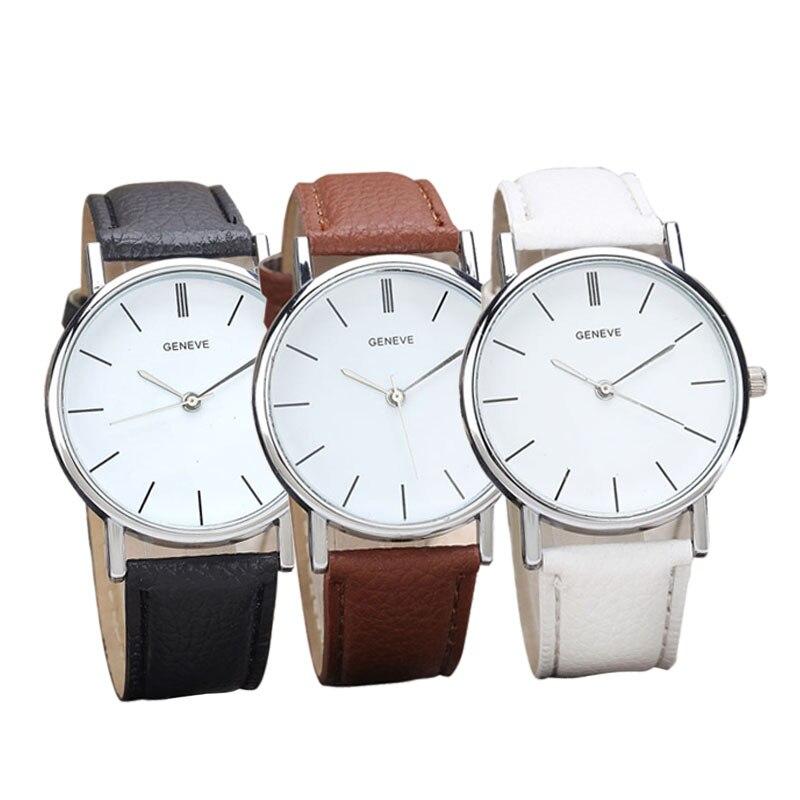 1c81ef8069e2 3 Colors Clock Brown Men Men s Watch Retro Design Leather Band Analog Alloy Quartz  Wrist Watches Fashion Casual Men s Watches