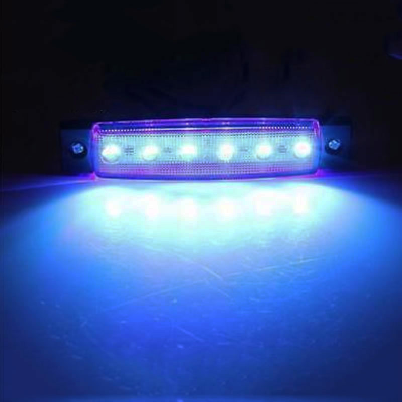 low priced 7abbe 1752b US $6.26 43% OFF|1 Pair Marine Led Light Courtesy & Utility Strip for Boats  12 Volts Blue White Boat Interior Led Lights Sea Salt Waterproof-in LED ...