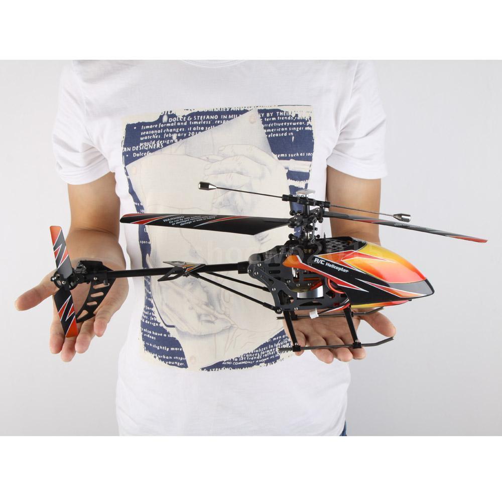 D'origine V912 Hélicoptère RC Sans Balais Version Mise À Niveau Parfaite 4CH RC À Lame Unique Jouets pour Adolescent RC Jouets En Plein Air
