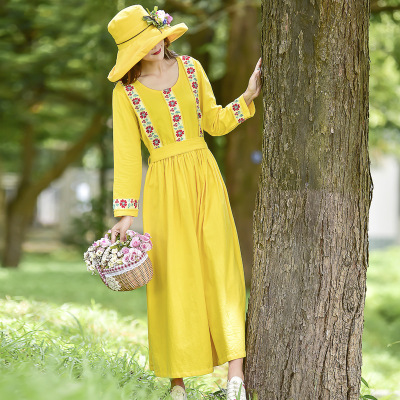 y187 Dress Women 2018 Elegant Casual Dresses Floral Print Vintage Jacquard A-line Short Party Dress Plus Size 5XL vestidos