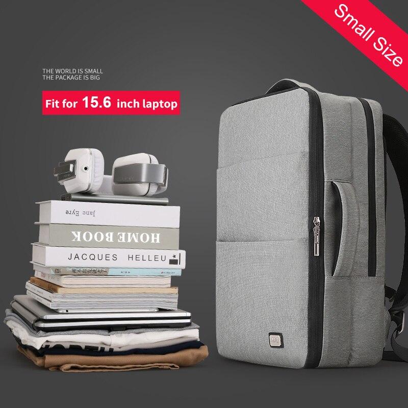 Mark Ryden Man Laptop Rugzak Zakelijke Tassen met Usb poort Opladen School Travel Pack Past 15.6 Inch Laptop-in Rugzakken van Bagage & Tassen op  Groep 2