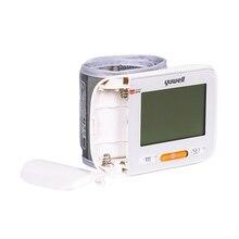 YUWELL 8600A Монитор артериального давления цифровой lcd наручный манжет монитор сердечного ритма Предупреждение Для нерегулярного Heartbeats ЭКГ монитор
