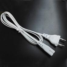 1,2 м 2 фута 2-зубец контактный AC Белый ЕС Кабель питания Шнур высокого качества свинцовый провод шнур питания для настольного ноутбука dc зарядное устройство