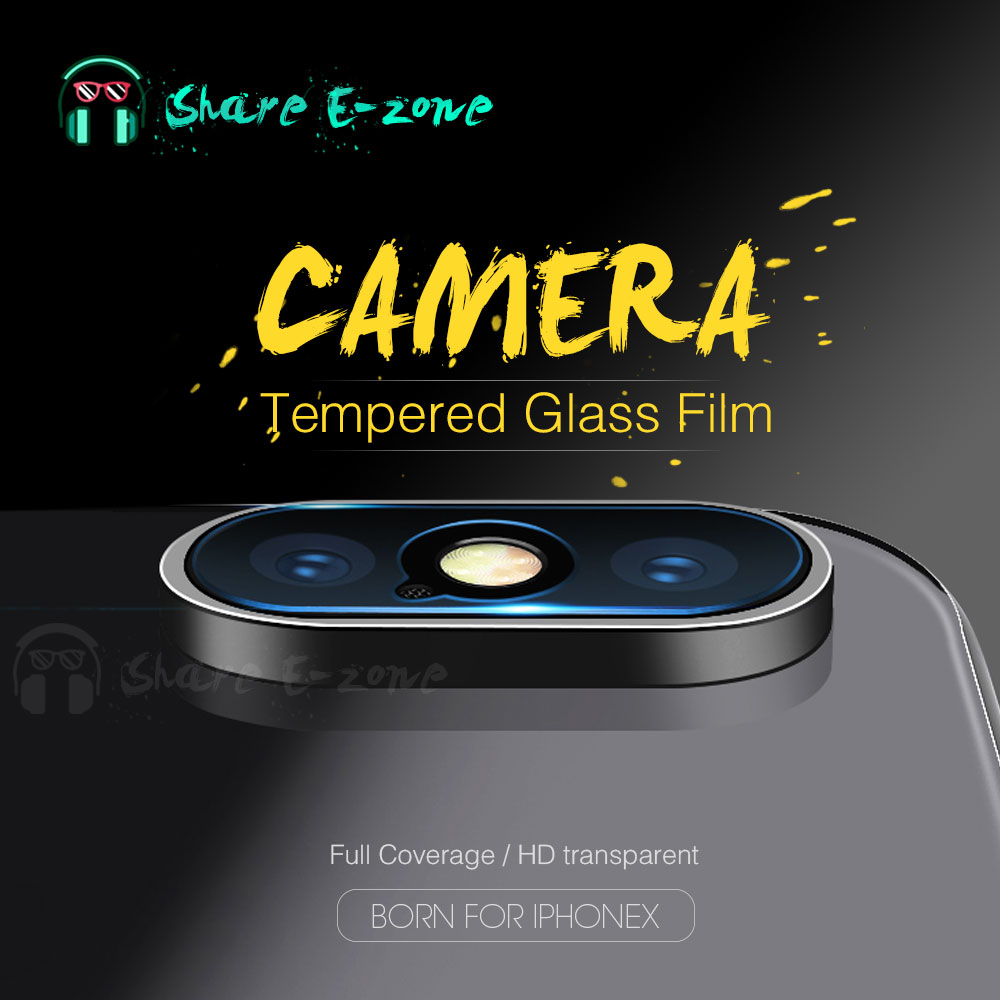 Shareezon Camera lens Screen Protector for iphone X 10 8 7 HD Clear Camera Tempered Glass For iphoneX 7 8 Plus Anti-scratch Flim