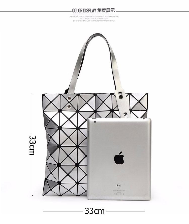 Women-Geometric-Plaid-Bag-Folded-Madam-Casual-Tote-Top-Handle-Distortion-Package-Shoulder-Bag-Bao-Bao-Pearl-BaoBao_04