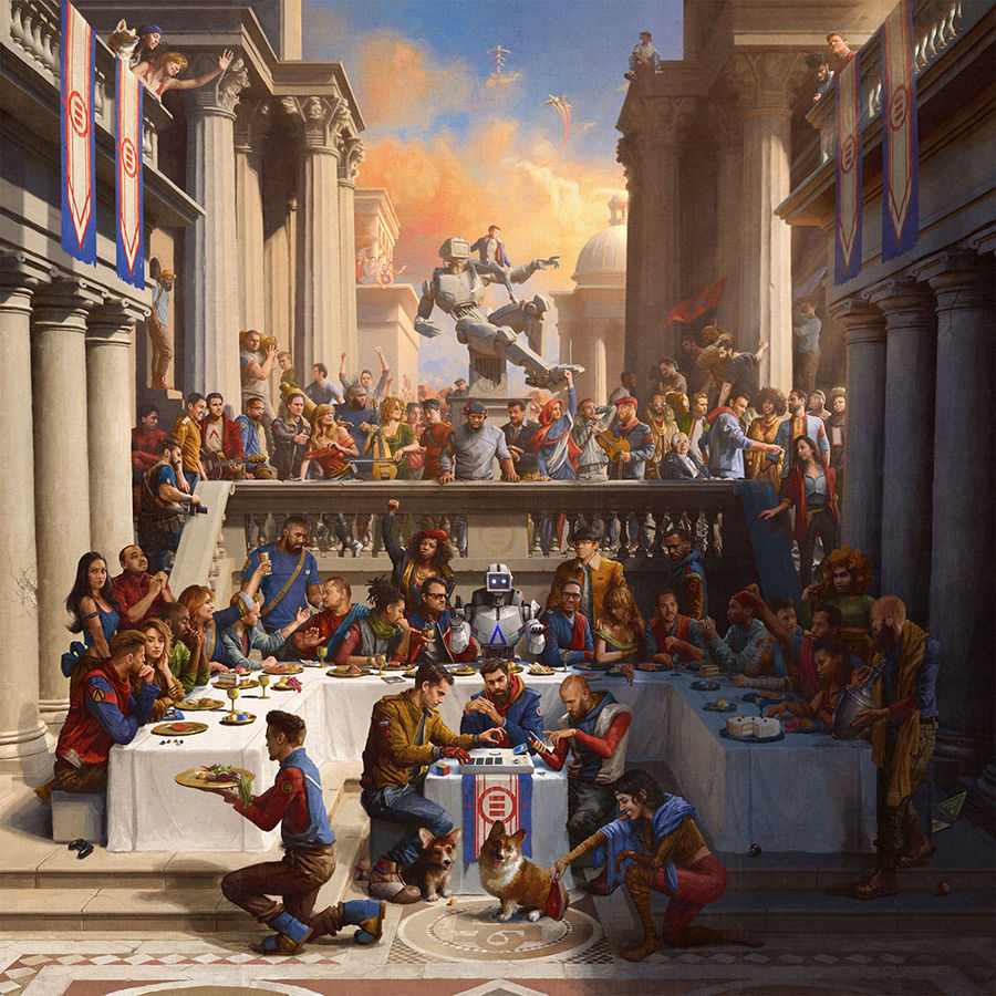Logic Everybody Album Art Poster 24x24 18x18 12x12 16x16 New Music Silk