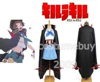 KILL la KILL Mako Mankanshoku Goku Uniform Dress Cosplay Costume Halloween Party