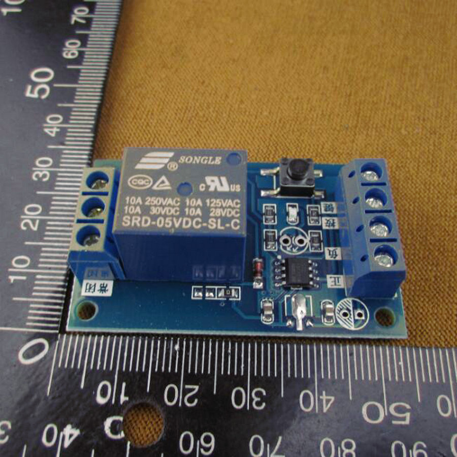 touch a button to start and stop the bistable latching relay module microprocessor controlled Bistable Dpdt Latching Relay Monostable Relay vs Bistable Relay
