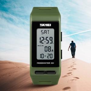 Image 2 - SKMEI Luxury Digital Watch Men Women Pedometer Calories Sports Watches Waterproof LED Electronic Wrist Watch Clock Male