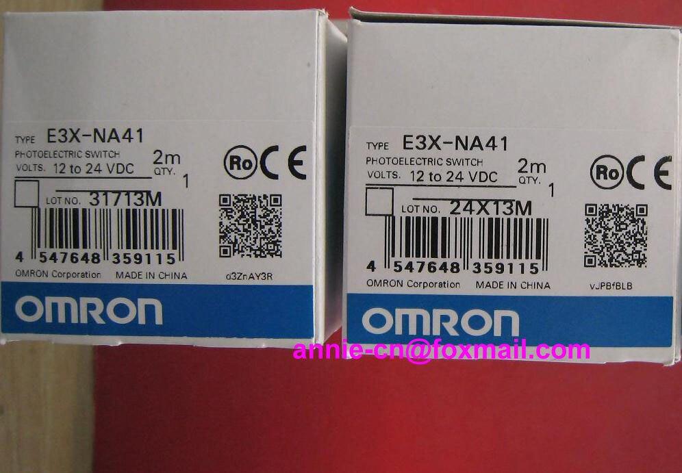 ФОТО New and original E3X-NA41  ORMON  Photoelectric switch   Optical fiber amplifier    12-24VDC   2M