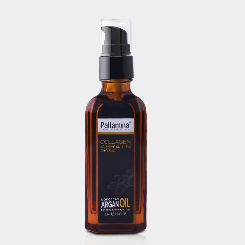 Fas argan yağı saf Derisi Kıvırcık Kuru Saç keratin Onarım - Saç Bakımı ve Şekillendirme - Fotoğraf 1