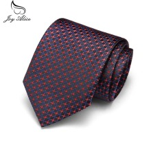 7.5 cm Men Ties New Man Fashion Dot Neckties Corbatas Jacquard Slim Tie Business Blue For Gravata