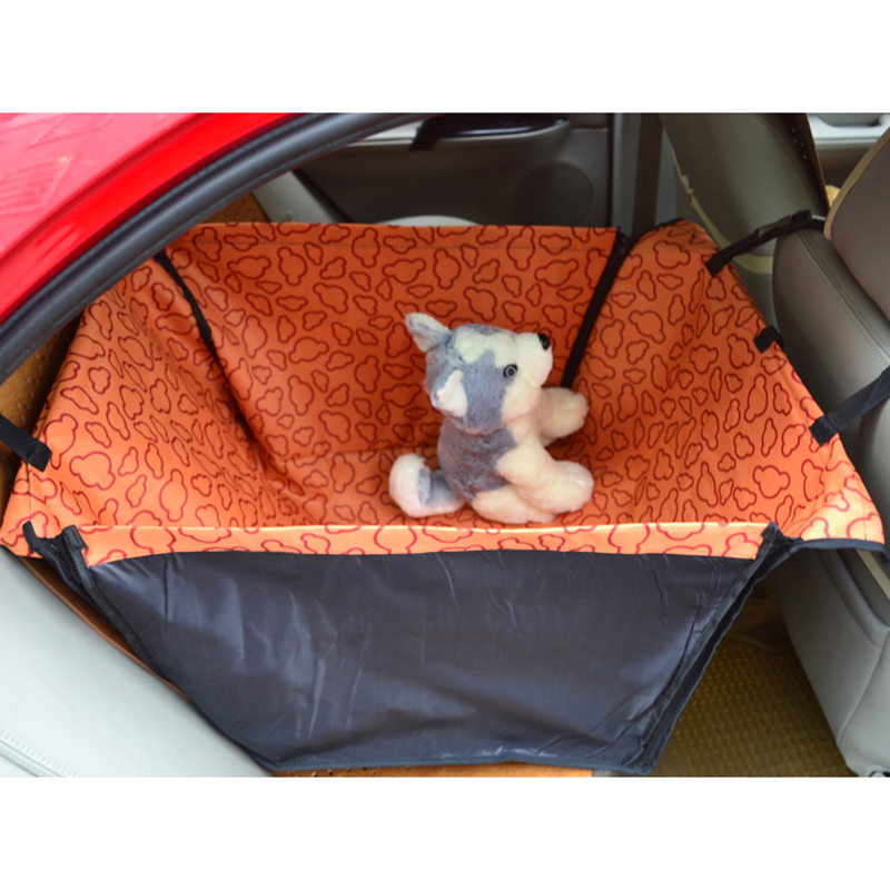 Waterproof Pet Dog Cat Rear Back Seat Car Auto Dog Beds Hammock Pet Seat Cover Mat Protector Car