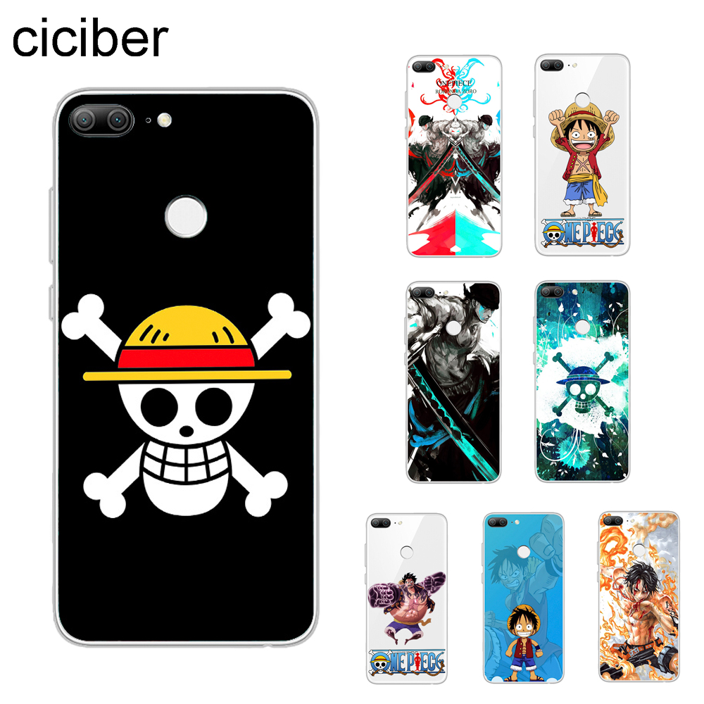 ciciber <font><b>Anime</b></font> One Piece Luffy Cover For Huawei <font><b>Honor</b></font> 9 Lite <font><b>8</b></font> 10 Pro Lite Note Play 8X 7A Phone <font><b>Case</b></font> Coque <font><b>Soft</b></font> TPU Fundas Capa image