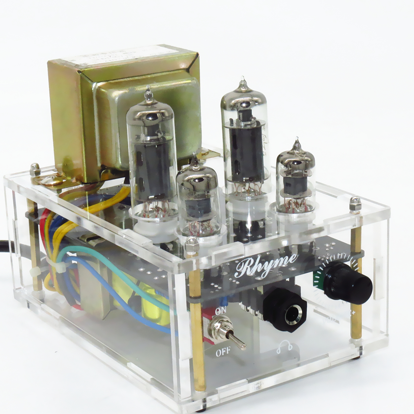 TIANCOOLKEI JP61 Vacuum tube 6J1 6P1 Professional headphone amplifier Suitable for 32 600Ohm headphones with audio
