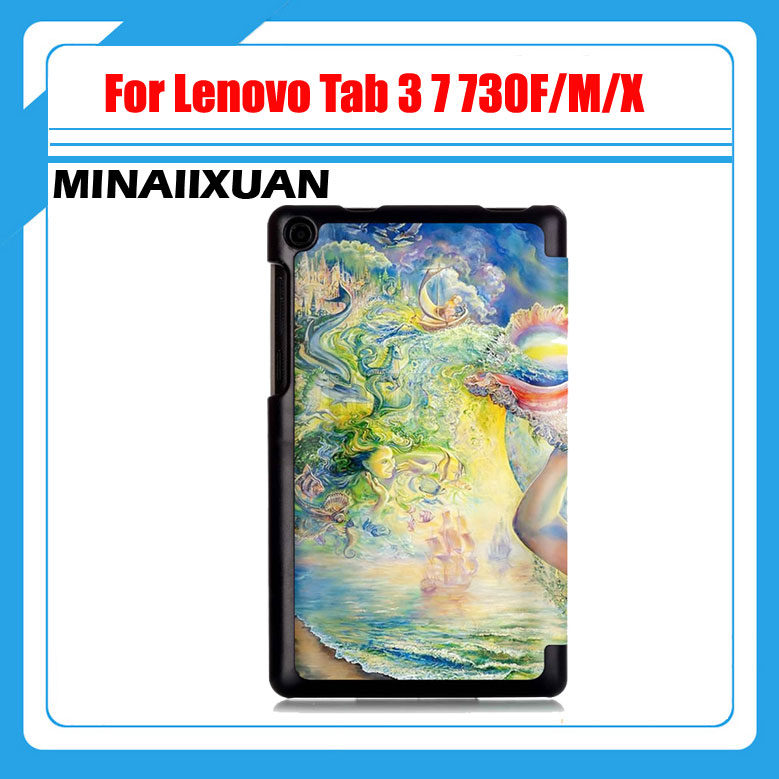 Printed PU leather case cover For Lenovo Tab 3 7 730F 730M 730X 7 inch tablet covers cases for TB3-730F (Not for Tab 3 7 710F) printed pu leather case cover for lenovo tab 3 7 730f 730m 730x 7 inch tablet covers cases for tb3 730f not for tab 3 7 710f