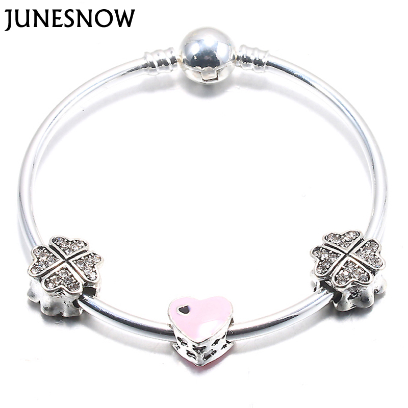 JUNESNOW Silver Plated...