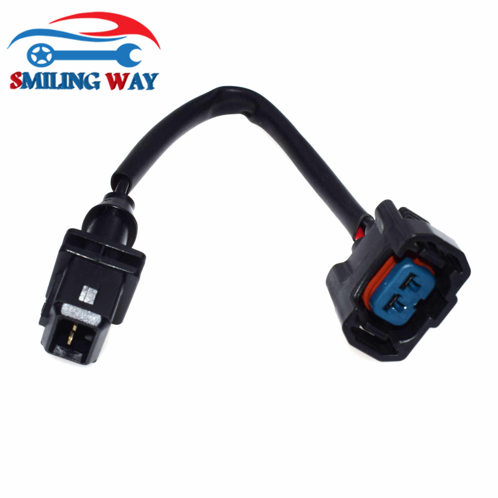 small resolution of  smiling way obd1 to obd2 fuel injector conversion jumper connector wire harness wiring pigtail plug