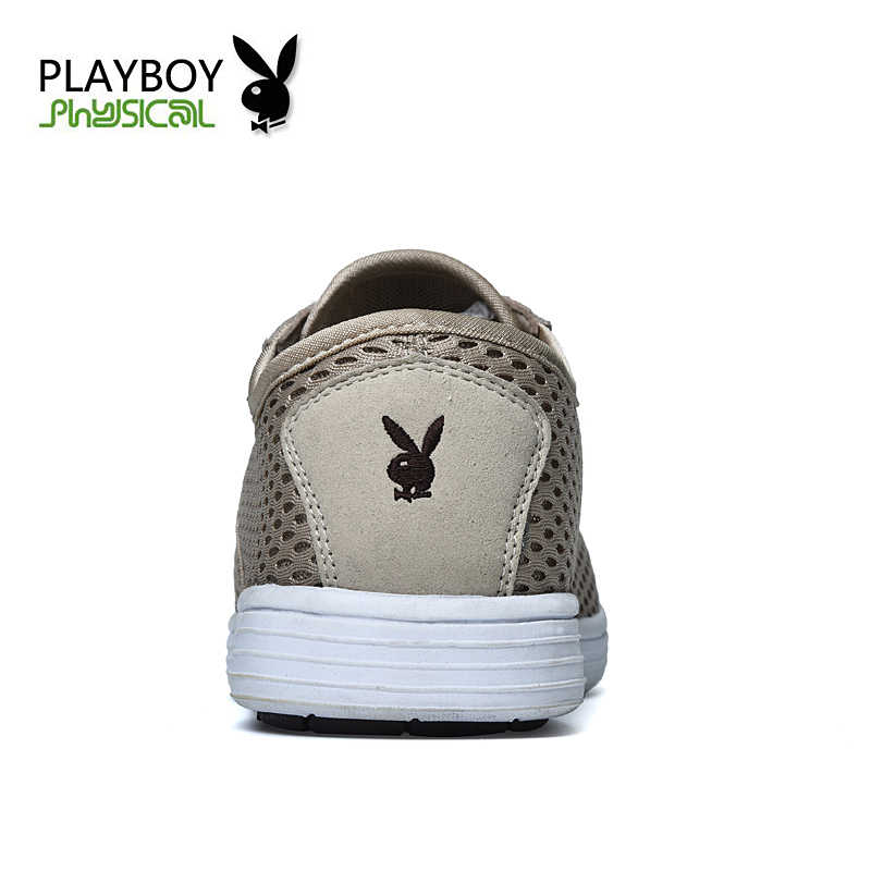 PLAYBOY mannen schoen chaussure homme heren schoenen sales zapatos schoenen 2016 zomer casual mesh instappers ademende schoenen