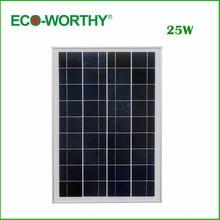 DE со, нет налога, 1 шт 25 Вт 18 В поли солнечные панели для зарядки 12 В батареи и Бесплатная доставка