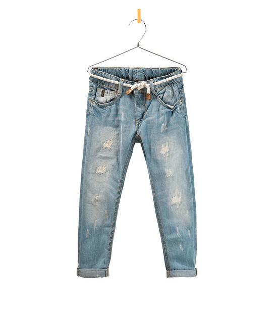 Muchachas Del otoño Del Bebé pantalones vaqueros Del Agujero pantalones niños descolorida jeans Para Niños al por mayor