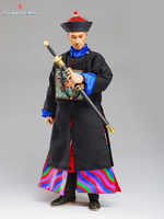 1 6th Scale Ancient China Figure The Qing Dynasty Military Attache General 12 Action Figure Doll