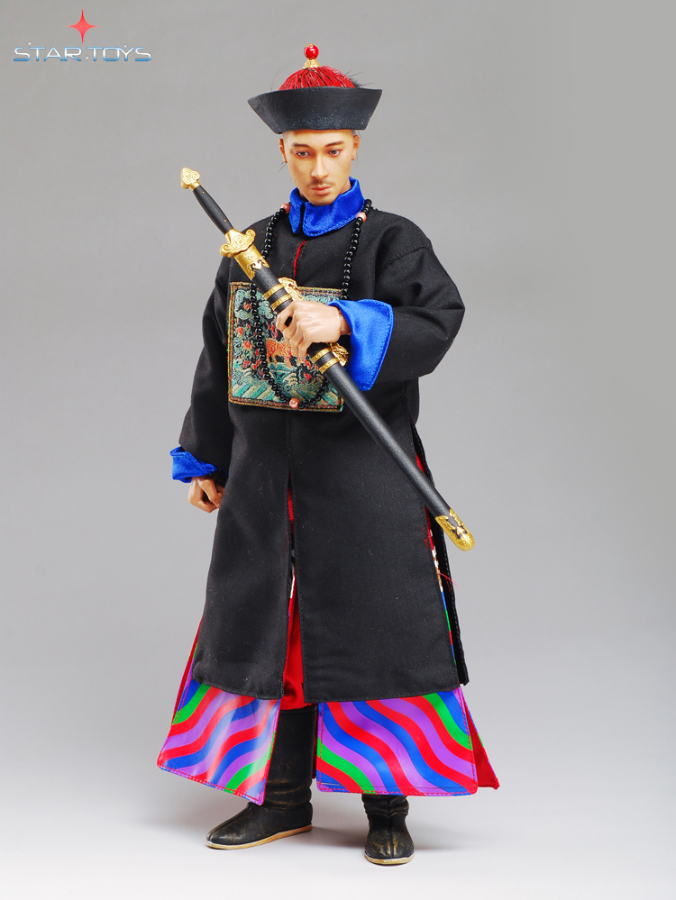 1/6th scale Ancient China figure The Qing Dynasty military attache General 12 Action figure doll Collectible Model plastic toy диван friendly faces of the qing dynasty rh
