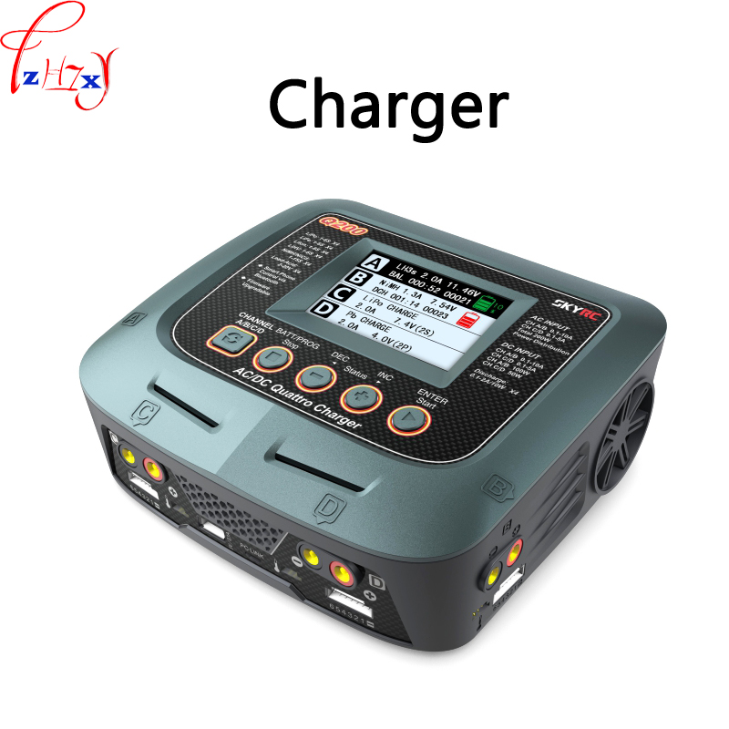 4 channel intelligent lithium battery model charger Q200 battery balance charger discharger AC/DC built-in power 100-240V 1PC4 channel intelligent lithium battery model charger Q200 battery balance charger discharger AC/DC built-in power 100-240V 1PC