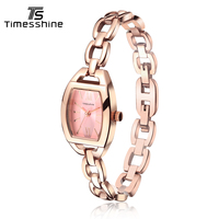 Timesshine Women S Bracelet Watches Fashion Luxury Brand Casual Ladies Quartz Watch Stainless Steel Waterproof Women
