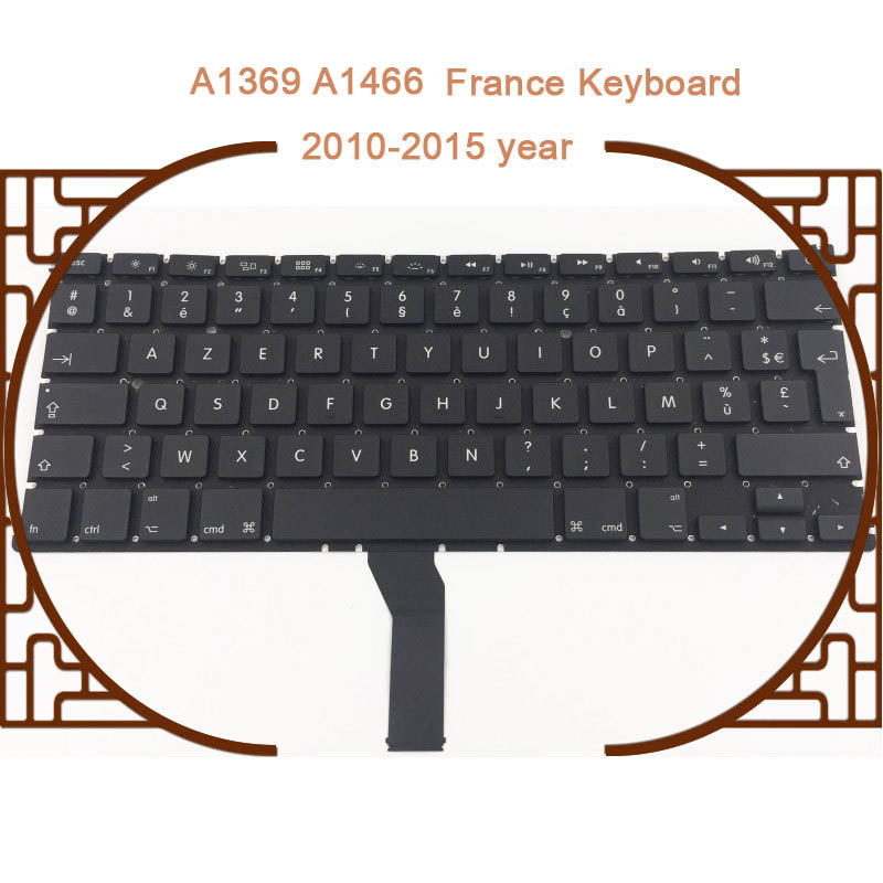 New A1369 A1466 France/Italy/Spain/Russian/Korea/UK/US Keyboard For Macbook Air 13