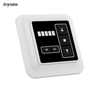 Anysane Blinds Remote Control Wireless Wall Mounting Wall Transmitter Radio Mando Garaje 433 92 Mhz Control