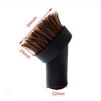 Vacuum Cleaner Accessories Round Brush 32MM Inner Diameter Brush Head Replacement Vacuum Brush Parts