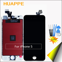 1PCS AAA Excellent Quality Display Screen For IPhone 5 LCD 4 0 Inches Touch Screen Replacement