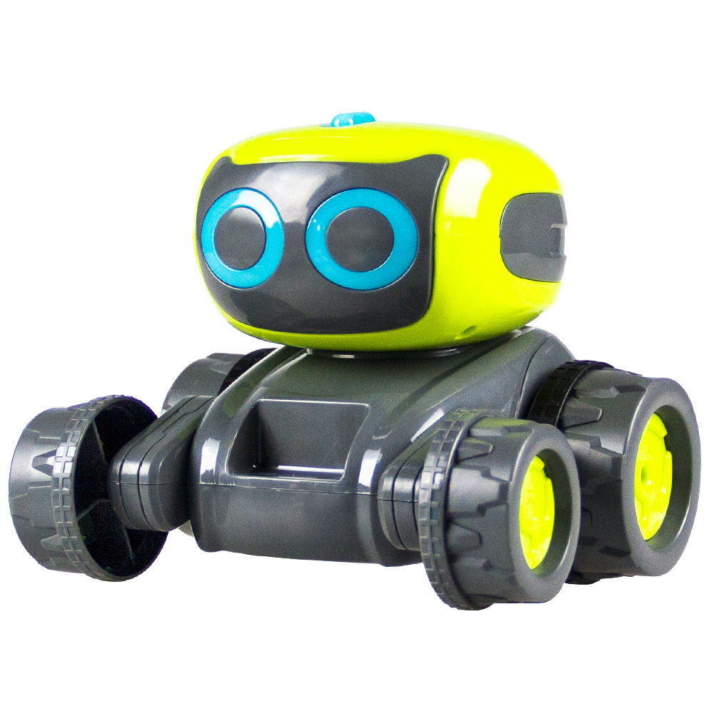 2019 Smart Programming RC Robot Engineering Bulldozer Forklift Assembly Indoor Toy For Children