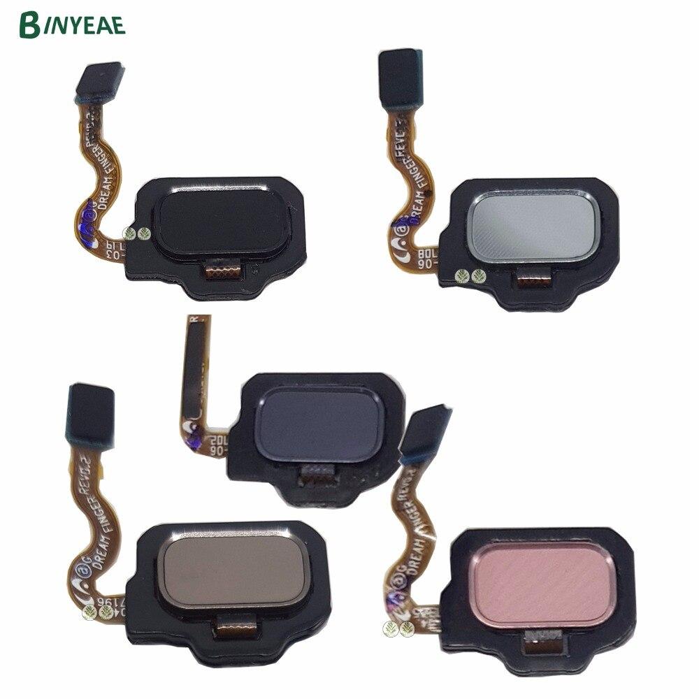 BINYEAE Back Home Button Fingerprint Sensor Accessories Black Pink Blue Gold Silver Gray For Samsung font