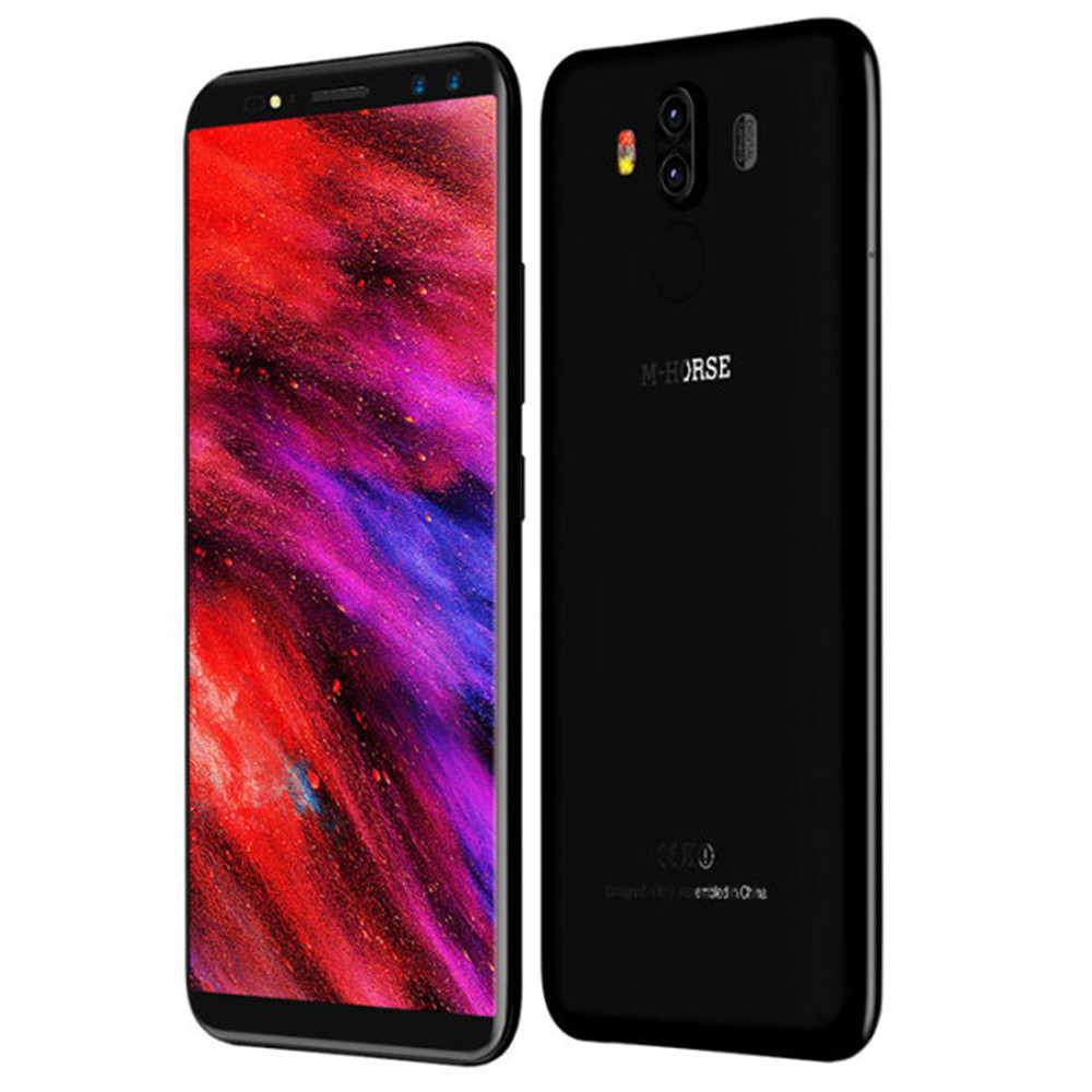 M Horse Pure 3 Мобильный телефон MTK6763 Octa Core 18:9 5,7 дисплей 4 ГБ + ГБ 64 мАч 4000 13MP + 5MP отпечатков пальцев ID сенсорный Android смартфон