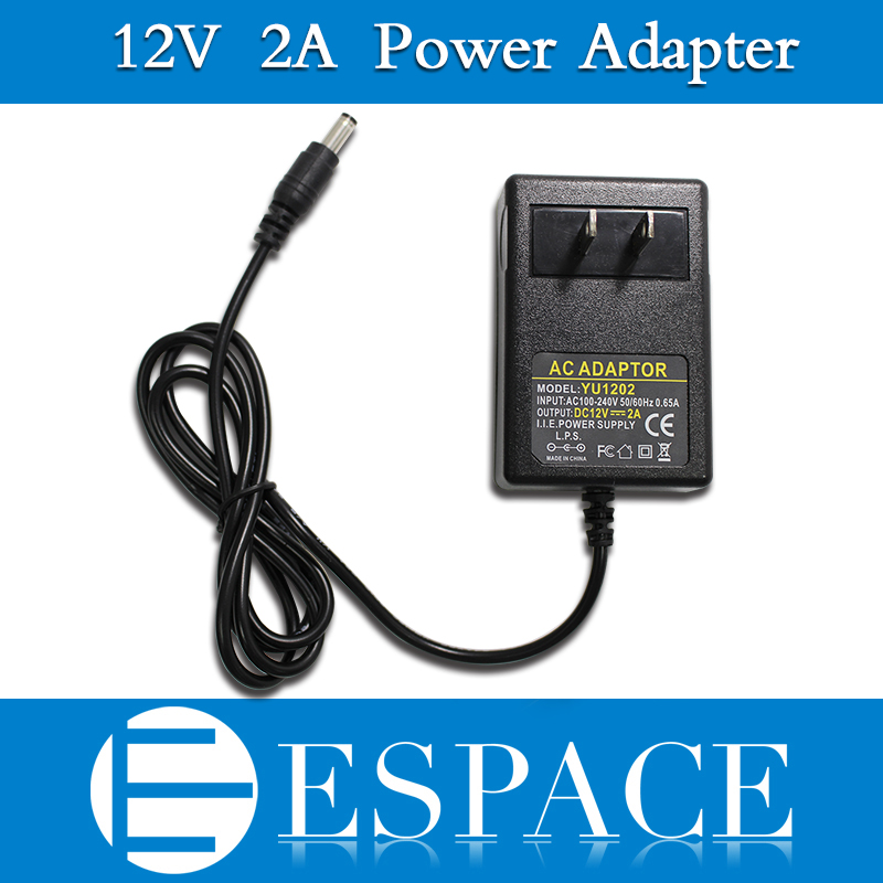 100pcs/lot 12V 2A Power Supply AC 100-240V To DC Adapter Plug For 3528 5050 Strip LED with EU/US plug free DHL 500pcs uk eu le dc 12v 2a power supply adapter ac 100 240v to dc 12v transformers switching power supply for 12v 3528 5050
