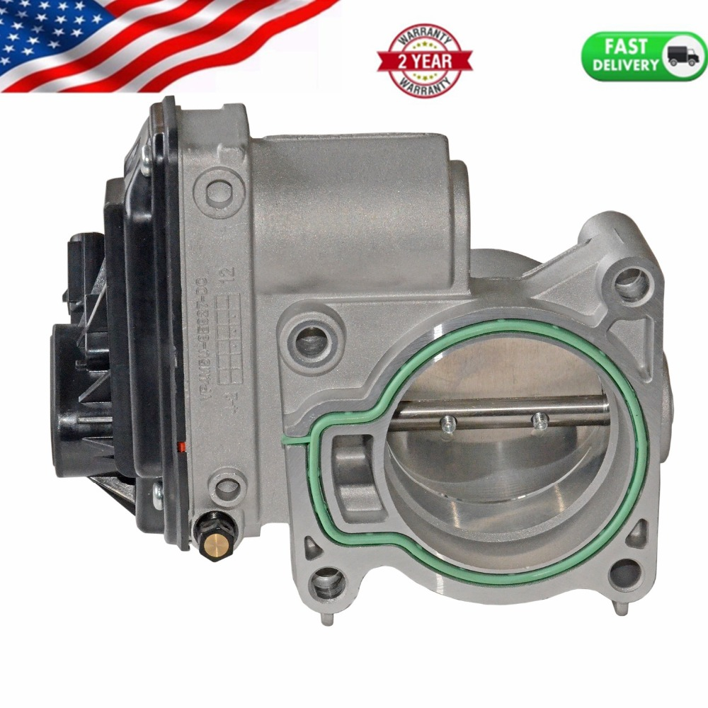 AP03 New 60mm Throttle Body For Ford Focus Fiesta ST 150 Fusion Mondeo 1.8T/2.0T 2.3 2.5L 1556736 4M5U9E927DC  4F9U9E928AC