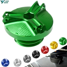for Kawasaki Z800 Z 800 z800 z 800 Motorcycle M20*2.5 Engine Oil Filter Cup Plug Cover Screw motorbike accessories стоимость