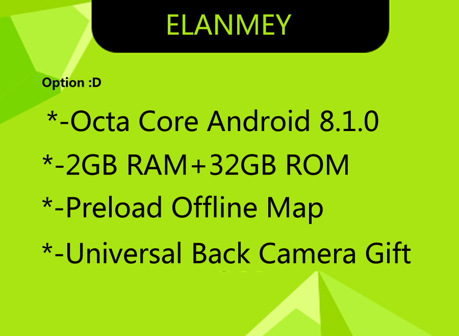 Discount Elanmey GPS 8-Core Bluetooth stereo android 8.1.0 car multimedia player for Subaru Forester 2015 multimedia radio no DVD Player 4