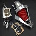 Acessórios da motocicleta Cone de Spike ar mais limpo na Yamaha 2002 - 2010 Roadstars meia noite guerreiro Chrome
