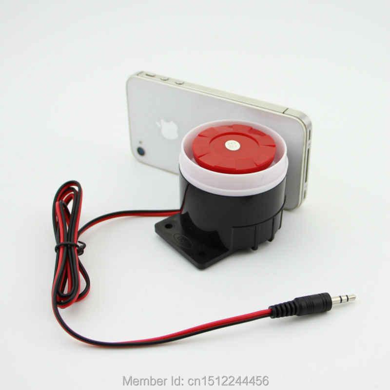 Baru Berkabel Rumah Keamanan Mini Siren Sensor Alarm untuk Penjualan 120dB 12 V Rumah Aecurity Alarm Sistem dengan Harga Murah