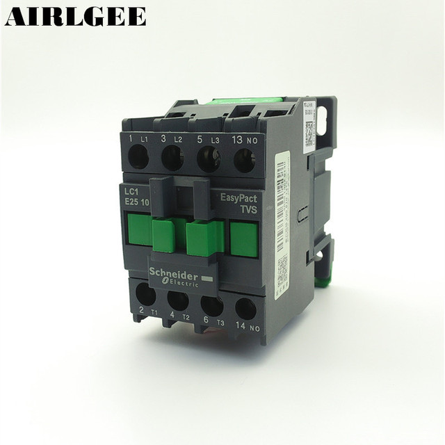 AC Contactor Motor Starter Relay 3 Phase Pole 1NO 220V Coil Voltage ...