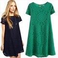 S-xxxxl 5 colores de verano ropa de maternidad embarazadas ropa mujeres vestido de maternidad ocasional hecho punto de encaje ropa para mujeres embarazadas