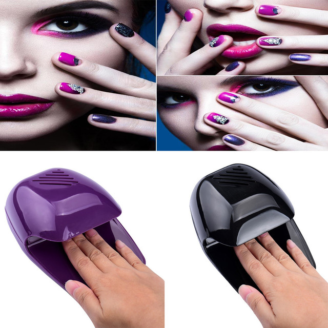 Damesmode Draagbare Hand Vinger Toe Nail Art Polish Paints Droger