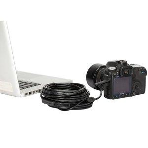 Image 2 - 5 متر/10 متر طويلة 2.0 البسيطة USB البرونزية كابل بيانات عالية السرعة الطاقة الحبل ل شاحن DSLR كاميرا سوني PS3 تحكم
