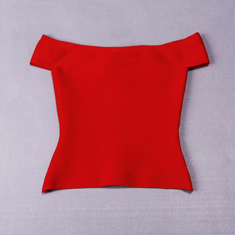 Летние сексуальные женские трикотажные колготки с вырезом лодочкой, бандажный Топ знаменитостей из вискозы, синий, черный, красный цвета