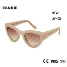 Esnbie Новый розовый Солнцезащитные очки для женщин Для женщин Кошачий глаз пикантные Люнет де солей Для женщин декоративные Очки Óculos модные очки UV400